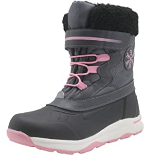 Ahannie Girls Frosty Winter Snow Boot,Kids