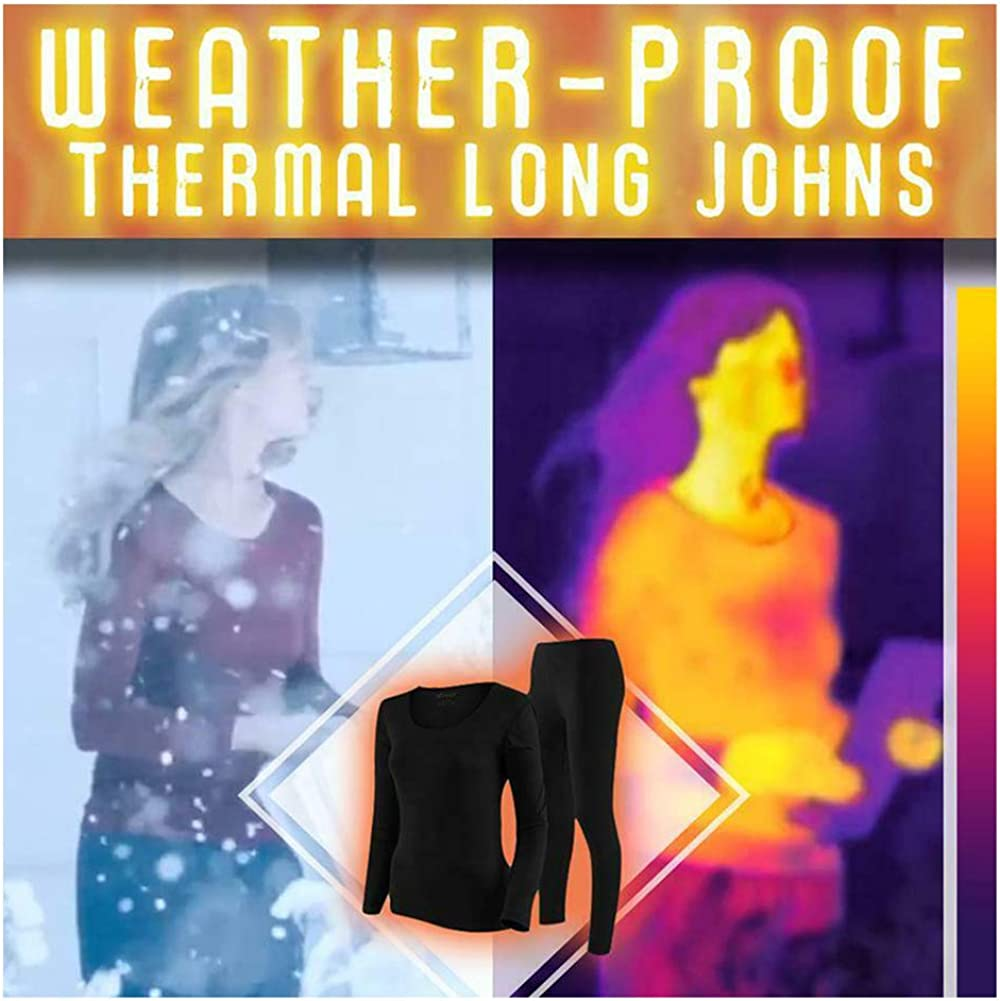 Seamless Elastic Thermal Inner Wear Set