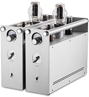 Nobsound 300B Monoblock Vacuum Tube Integrated Amplifier; High-End Class A Hi-Fi Power Audio Amp; 1 Pair (JJ Tesla 300B)