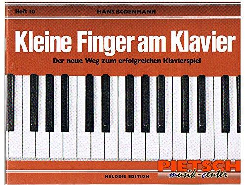 Kleine Finger am Klavier, H.10