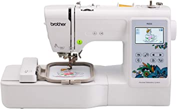 """Brother PE535 Embroidery Machine, 80 Built-in Designs, 4"""" x 4"""" Hoop Area, Large.."""