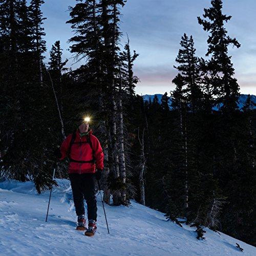 ANSMANN LED Stirnlampe HD7F mit stufenloser Fokussierung – Profi LED Arbeitsleuchte mit 280 Lumen – Kopflampe ideal zum Radfahren Laufen mit Hund Joggen Angeln Jagd Camping Werkstatt Fahrrad Licht - 5