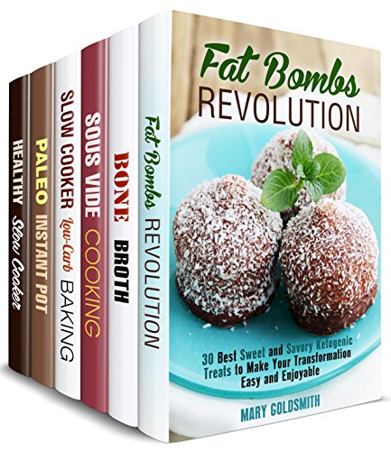 Weight Loss Transformation Box Set (6 in 1): Lose Weight with the Best Ketogenic, Sous Vide, Paleo, Slow Cooker, Bone Broth Recipes (Healthy Living & Cooking)