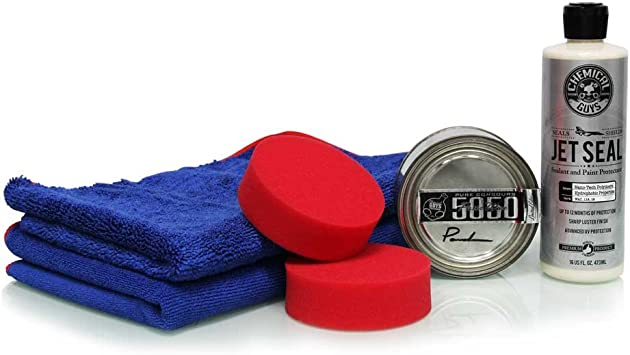 Chemical Guys HOL_101 JetSeal 109 and 5050 Paste Wax Ultimate Shine and Protection Kit (6 Items): image