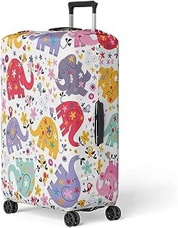 Kids Sugar Skulls Suitcase Checked 24Medium Personalized