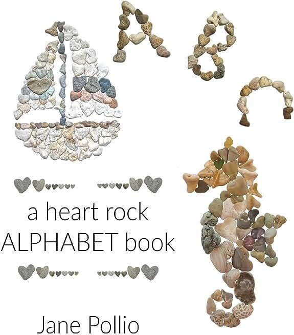 ABC: a heart rock alphabet book