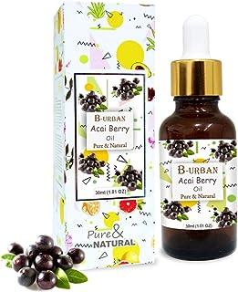 B-URBAN Acai Berry Oil 100% Natural Pure Undiluted Uncut Carrier Oil 30ml