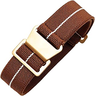 Span Realm Man's Parachute Special Elastic Nylon Band 20/22mm High-end Superior Watch Nylon Strap