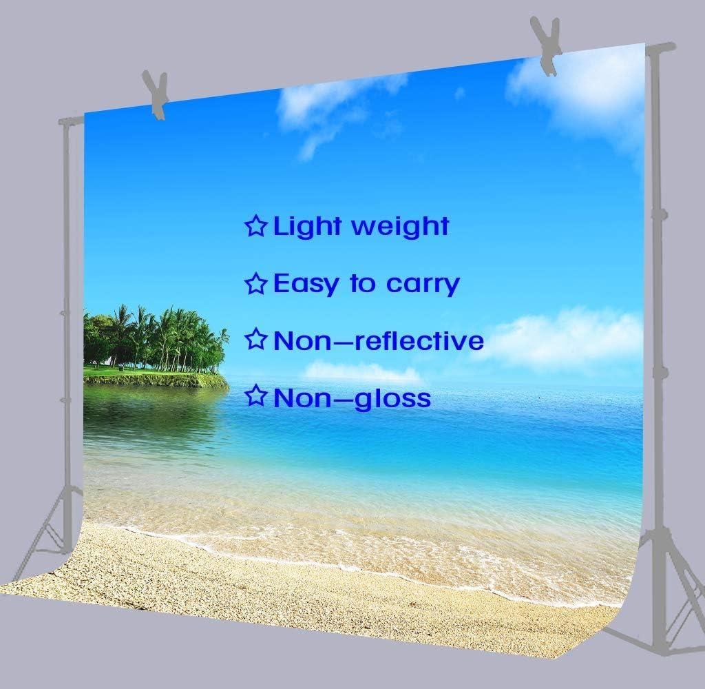 15x10ft Blue Sky Sea Beach Photography Backdrop Wedding Background Photo Studio Props Holiday Banner Decor HXFU123