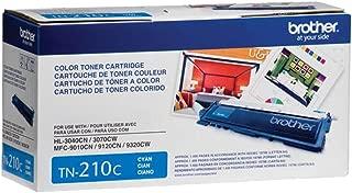 Brother TN210C Cyan Original Toner Standard Yield (1,400 Yield)