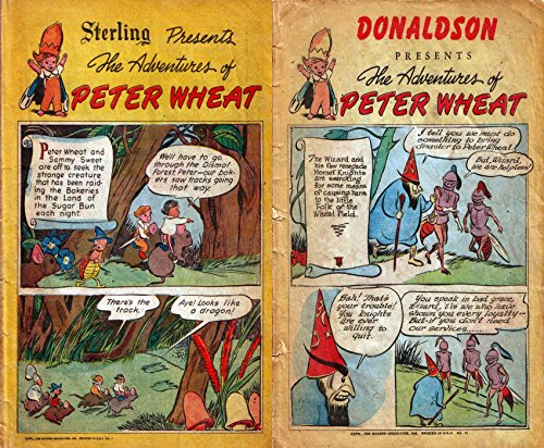 The Adventures of Peter Wheat. Issues 7, 8 and 12. Krug Presents. Golden Age Fairy Tales, Nursery Ryhmes and childrens comics (English Edition)