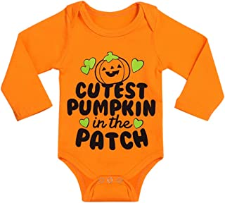 Halloween Baby Boys Girls Clothes Cutest Pumpkin Patch Costumes Rompers Outfits