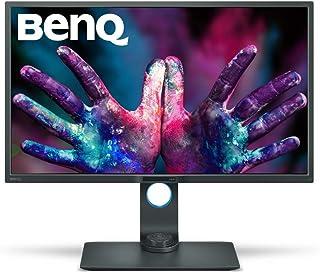 """BenQ 32"""" Designer Monitor, 2560x1440 2K QHD, 100% Rec.709, sRGB, Hotkey Puck, Dual View, HDMI, DP,Black,32/inch,PD3200Q"""