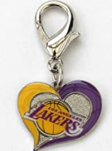 product image for Diva-Dog NBA Basketball 'Los Angeles Lakers' Licensed Team Dog Collar Charm