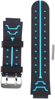 ibasenice Bracelet de montre en silicone - 16 mm - Changement rapide - Pour garçons et filles - Avec outil de barre à ressort