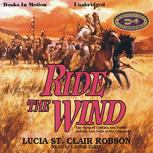 Ride the Wind audiobook cover art