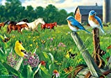 Buffalo Games - Hautman Brothers - Country Meadow - 300 Large Piece Jigsaw Puzzle