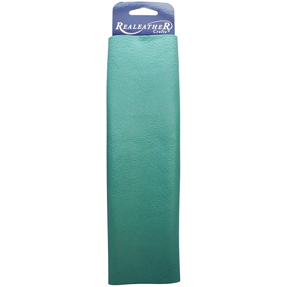 SILVER CREEK LEATHER CO  LLC C0811-04 C0811-04 Premium Trim Leather 8.5X11 Turquoise wuke559302196388