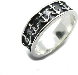 Anello in argento massiccio Ancora 925 R001794