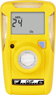 BW Technologies BWC2-X BW Clip Single Gas O2 Monitor, 19.5/23.5