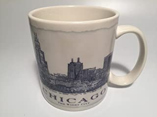 2008 Starbucks Chicago Cityline Coffee Mug Cup