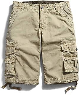 Pantalones cortos cargo de varios bolsillos para hombre