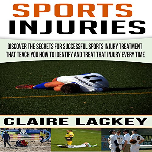 Sports Injuries audiobook cover art