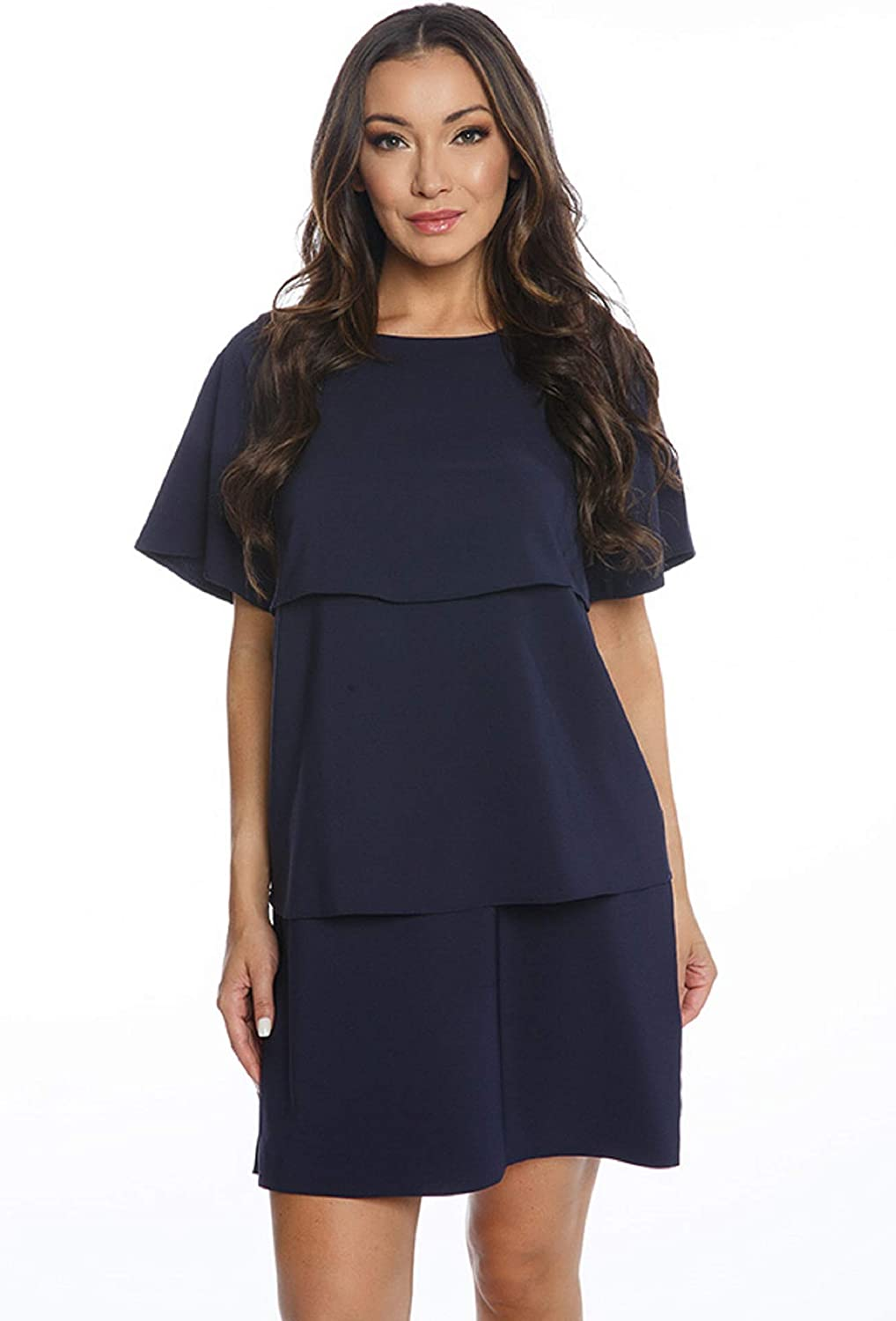 Isle Apparel by Melis Kozan Layered Shift Dress