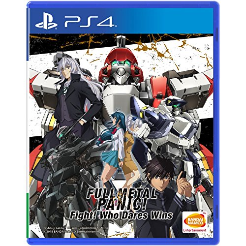 FULL METAL PANIC! FIGHT WHO DARES WINS PS4 ASIA VERSION ENG SUB REGION FREE