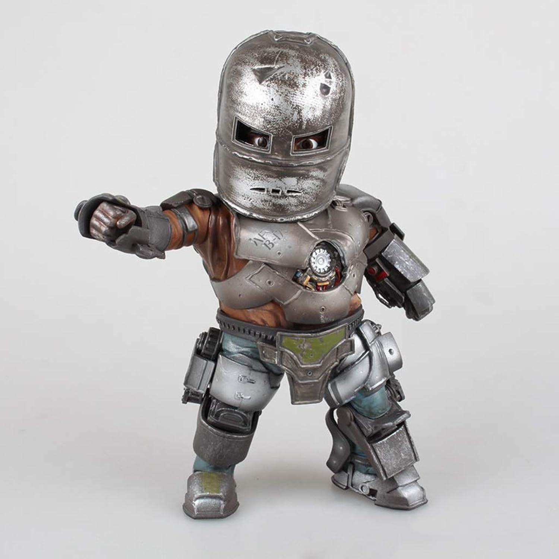 Vuelta de 10 dias El Personaje del Juego Juego Juego De Anime Iron Man Mark Modelo Estatua Puede Ser Iluminado Adornos De Juguete De 20 Cm De Altura CQOZ  para proporcionarle una compra en línea agradable