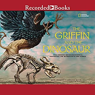 The Griffin and the Dinosaur audiobook cover art