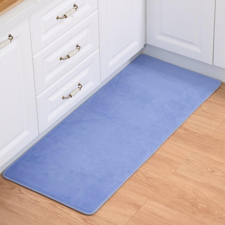 Living Room Indoor mats doormats European Household mats Bedroom Blanket for Bedroom Bathroom Water-Absorbing Non-sliping mats-B 100x200cm(39x79inch)