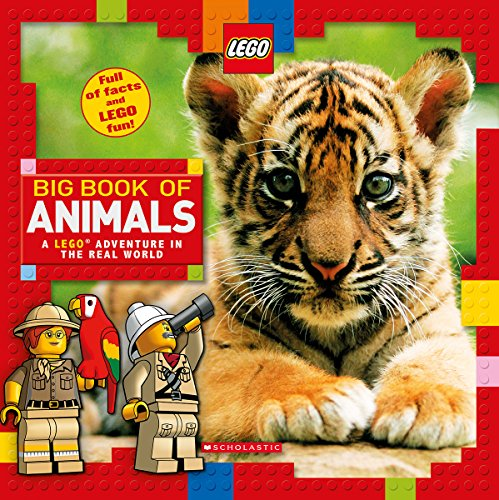 Compare Textbook Prices for Big Book of Animals LEGO Nonfiction: A LEGO Adventure in the Real World Illustrated Edition ISBN 9781338130072 by Arlon, Penelope