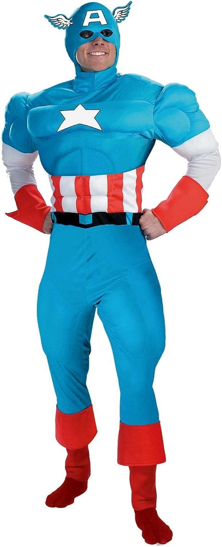 Captain America  costume for man  L