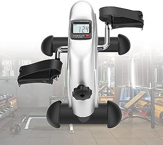 Greensen Mini Exercise Bike, Portable Pedal Exerciser Under Desk Pedal Bike with LCD Display, Home Fitness Leg Arm Trainin...