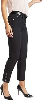 89th + Madison Women's Millennium Stretch Buckle Cuff Stretch Straight Leg Pants
