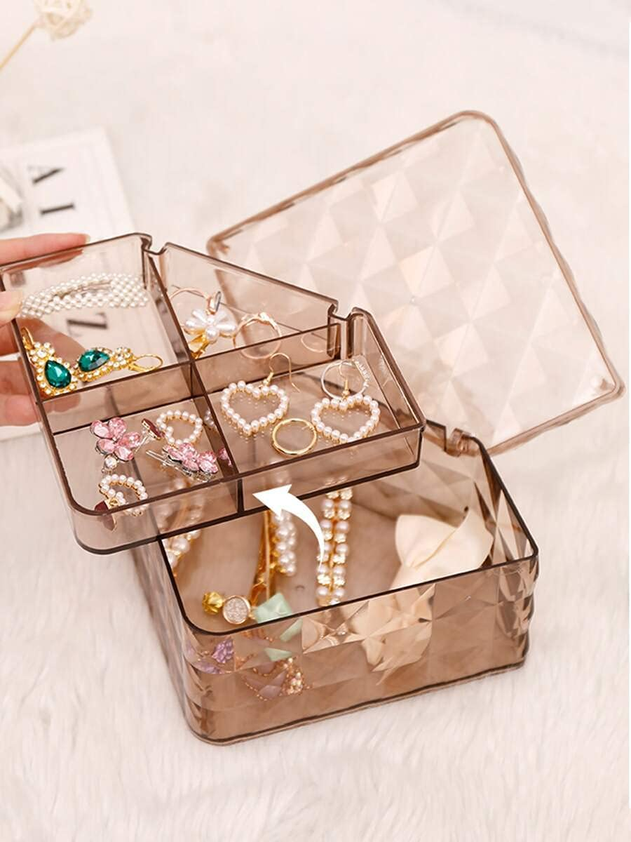 Jzhi Jewelry Box 1pc Double On Storage Cash special price : Size All items in the store Layer