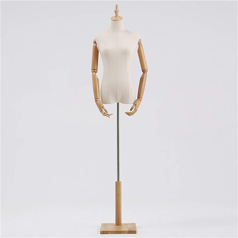 ZEMIN Mannequin Body Limited time sale Torso Height New arrival Form Dress Adjustable Female