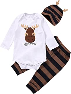 BriskyM Childrens Newborn Baby Boy Summer Costume Coco Letter Print Short Sleeve T-Shirt Top Surf Shorts Clothes Set