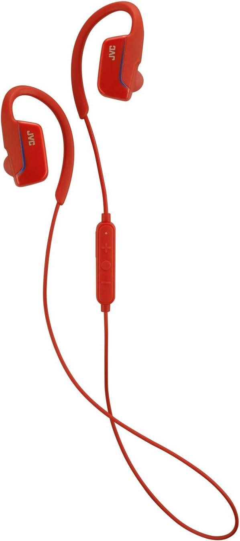 JVC Wireless Earclip Sport Headphone (Red) HA-EC30BTR