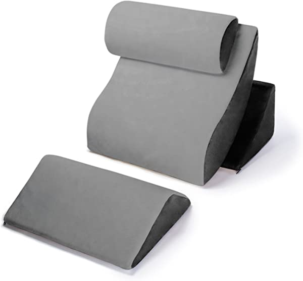 Avana Orthopedic Support Pillow Kind Bed Comfort System Grey Black