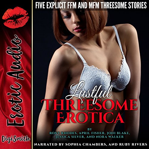 Lustful Threesome Erotica audiobook cover art