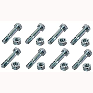 (8) Replacement Shear Pins w/Bolts Made to Fit Craftsman Snowblowers 88289