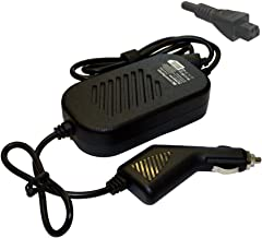 Power4Laptops DC Adapter Laptop Car Charger for Toshiba Qosmio F20, Toshiba Qosmio F30, Toshiba Qosmio F30-115, Toshiba Qosmio F30-116, Toshiba Qosmio F30-117