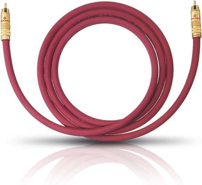 Oehlbach Nf 214 Sub 500 Erstklassiges Subwoofer Kabel Elektronik