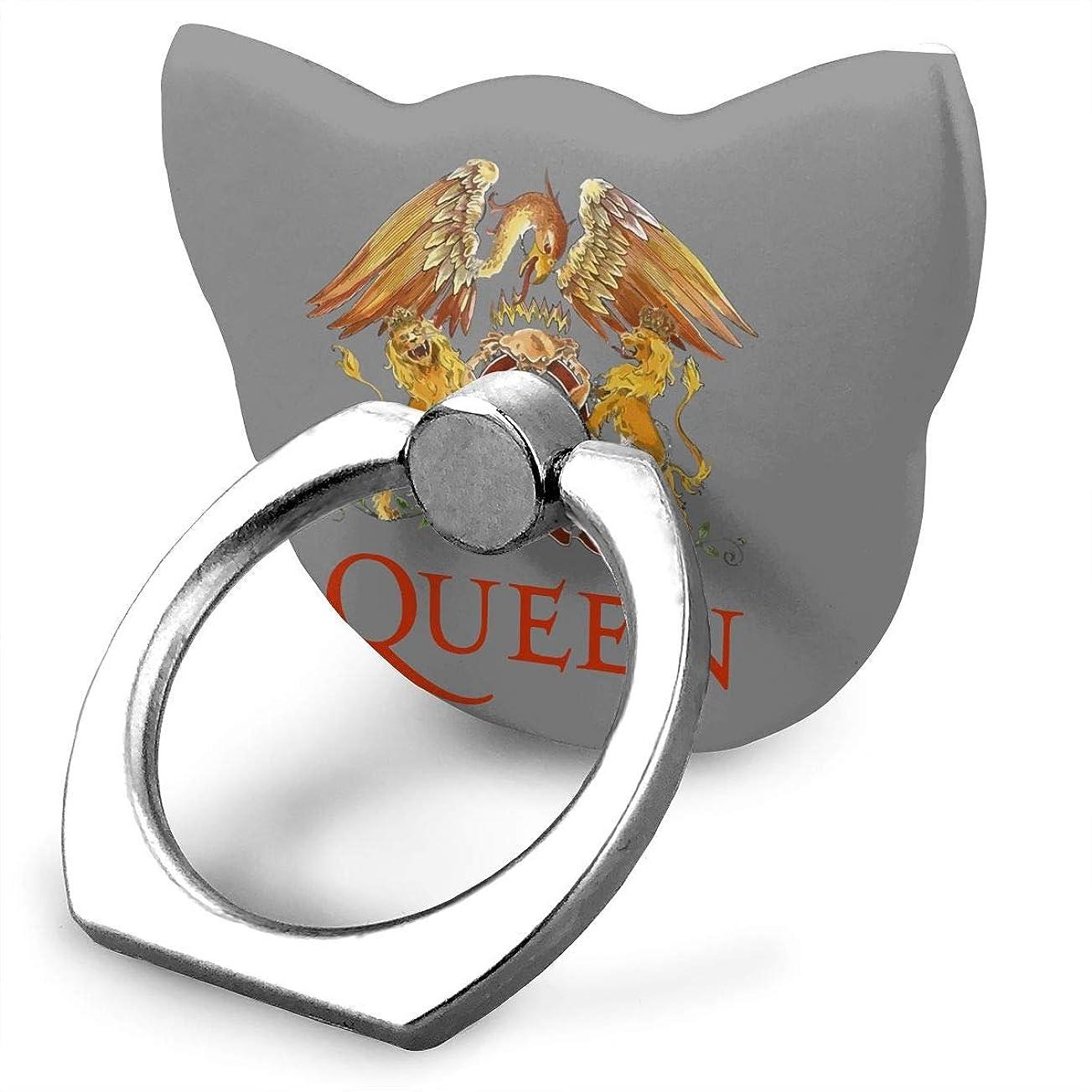 韓国カルシウム値下げクイーン Queen Band ロゴ スマホ リング ホールドリング 指輪リング 薄型 おしゃれ スタンド機能 落下防止 360度回転 タブレット/スマホ\r\n IPhone/Android各種他対応