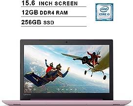 Lenovo 2019 Newest Ideapad 330 15.6 Inch HD Laptop (Intel Core i3-8130U up to 3.4 GHz, 12GB RAM, 256GB SSD, Intel UHD Graphics 620, Bluetooth, HDMI, Windows 10) (Purple)