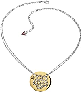 Guess Women's Necklace in Rhodium-plated UBN11307