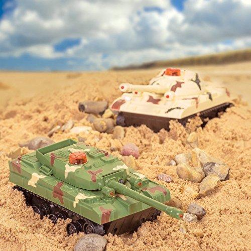 Tobar - 21141 - Coffret de 2 chars de combat télécommandés
