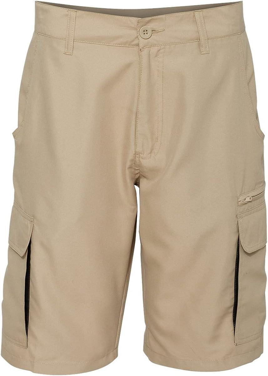 Burnside Mens Microfiber Shorts-B9803
